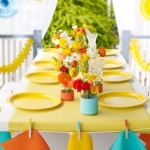 Summer birthday table