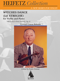 Paganini Witches Dance Heifetz